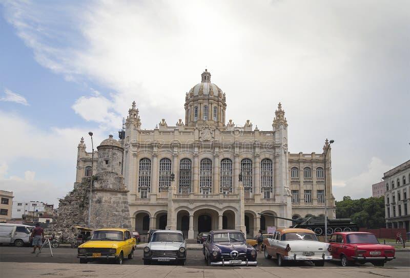 La Havane, musée de la révolution image libre de droits