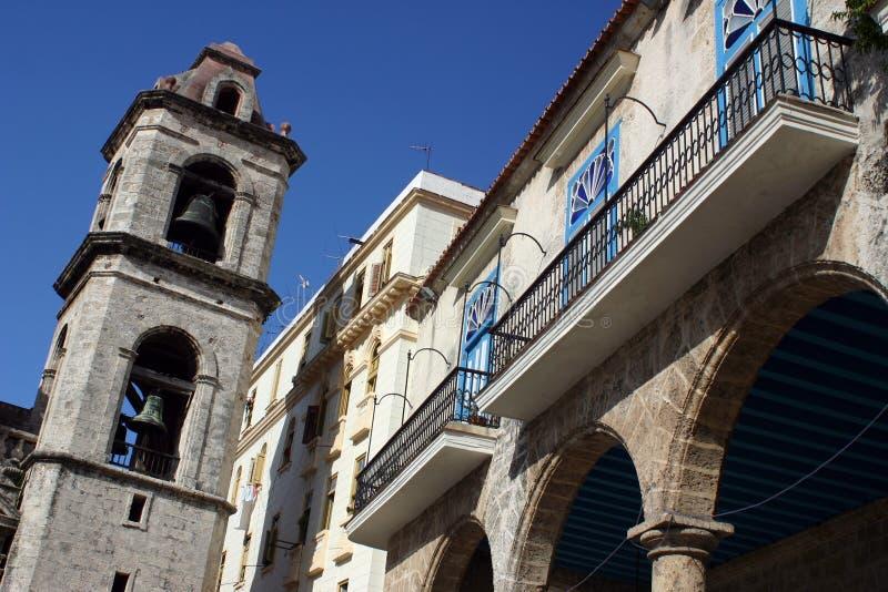La Havane San Cristobal photographie stock