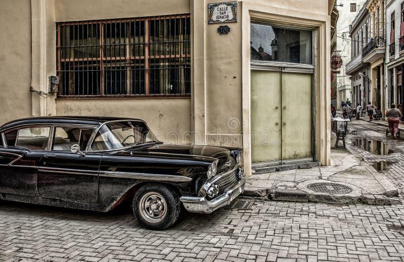 La havane-San Ignacio Street photographie stock