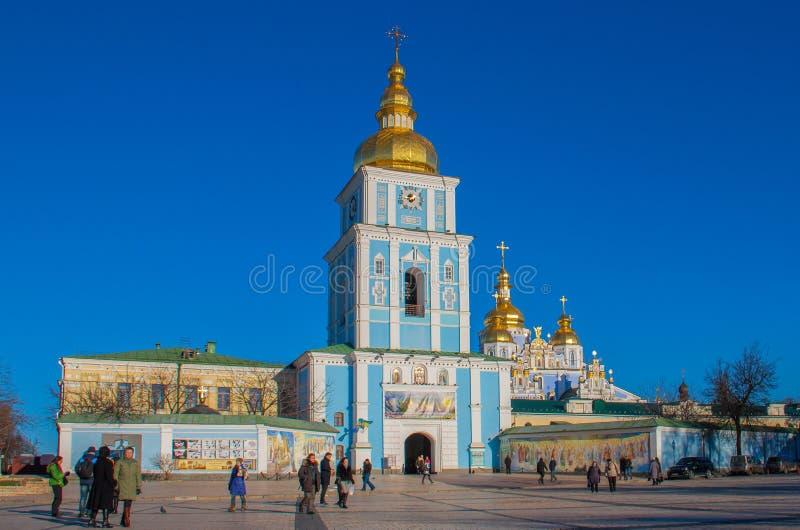 La herencia católica de Kiev, Ucrania fotos de archivo