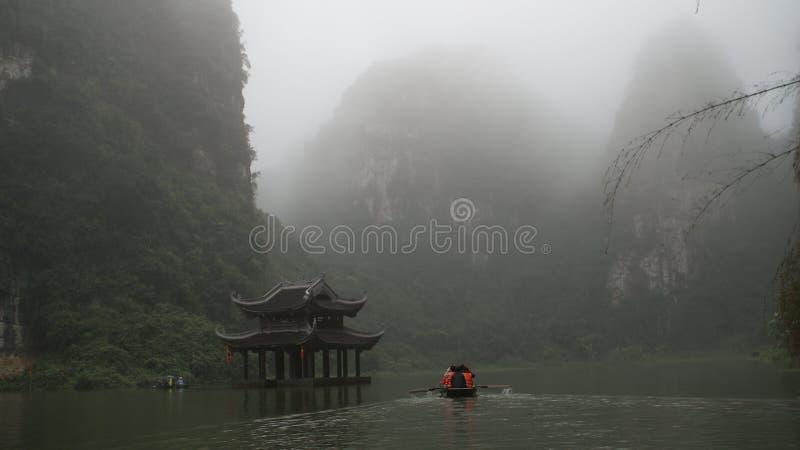La herencia compleja Bai Dinh Trang An Ninh Binh Vietnam del mundo fotografía de archivo libre de regalías