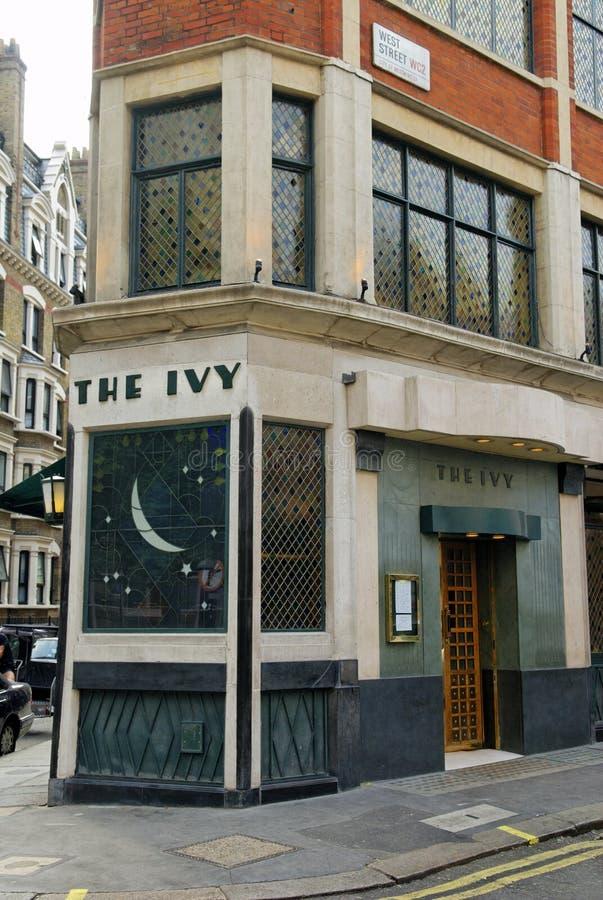 La hiedra, calle del oeste, Londres, Gran Bretaña imágenes de archivo libres de regalías