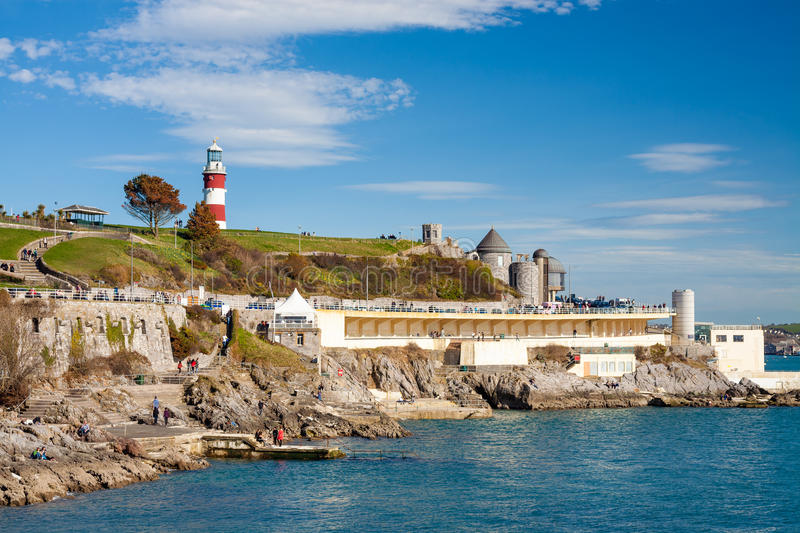 La houe Plymouth Devon image stock