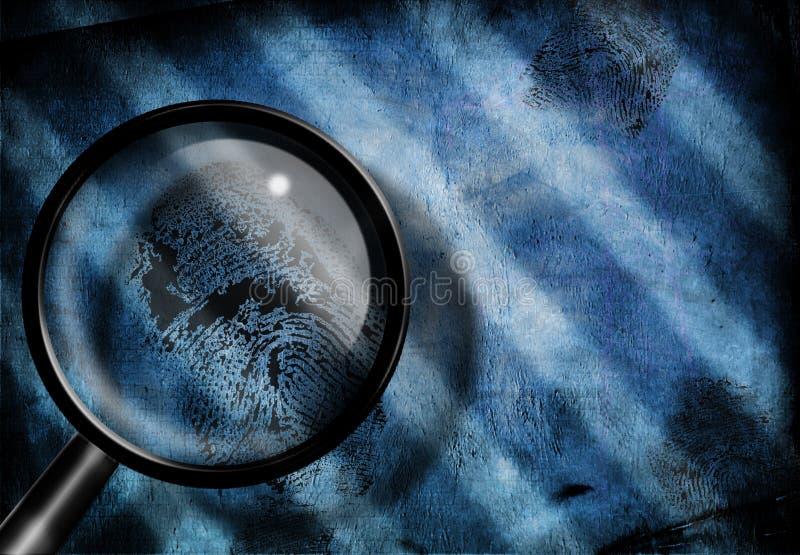 La huella digital investiga libre illustration
