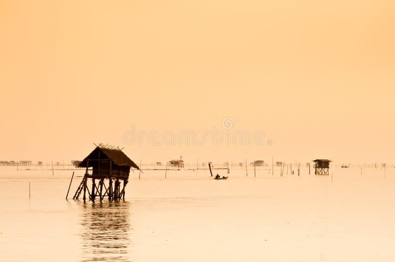 La hutte de mer photographie stock libre de droits