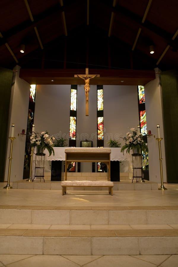 La iglesia altera imagen de archivo libre de regalías