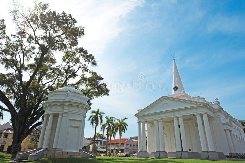 La Iglesia Anglicana de San Jorge foto de archivo libre de regalías