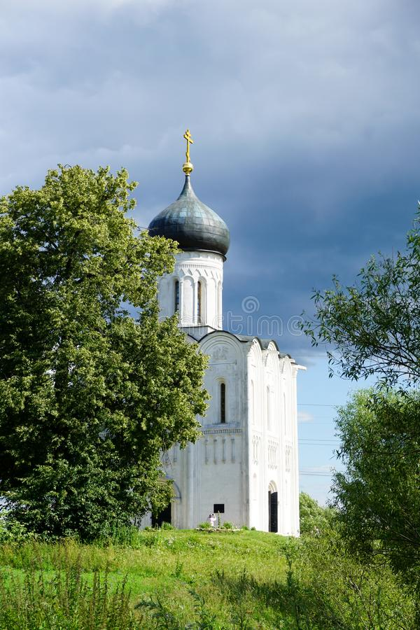 La iglesia antigua fotos de archivo