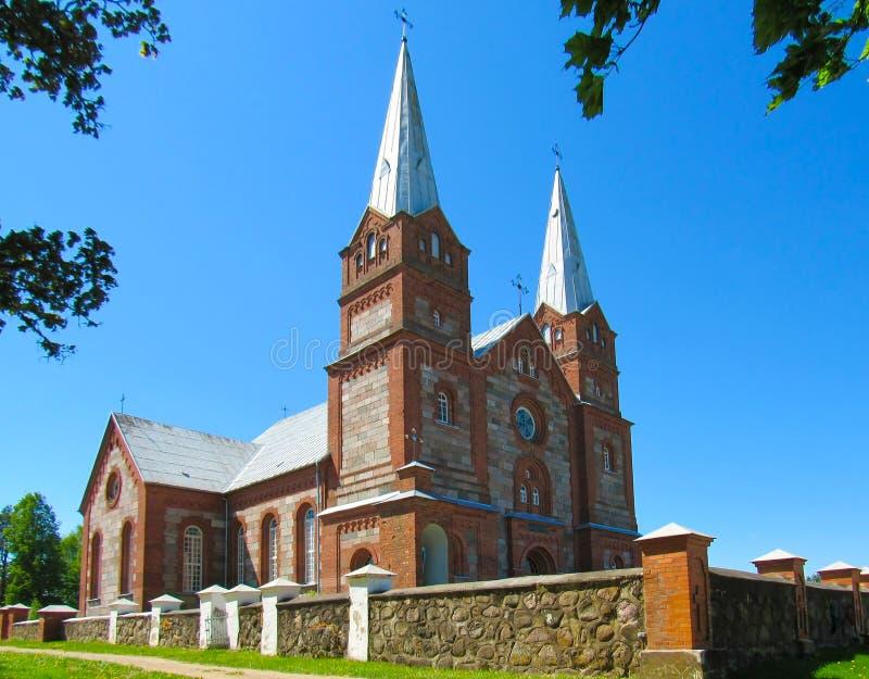 la iglesia católica imagen de archivo
