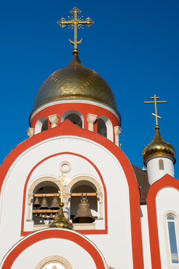 La iglesia cristiana fotos de archivo