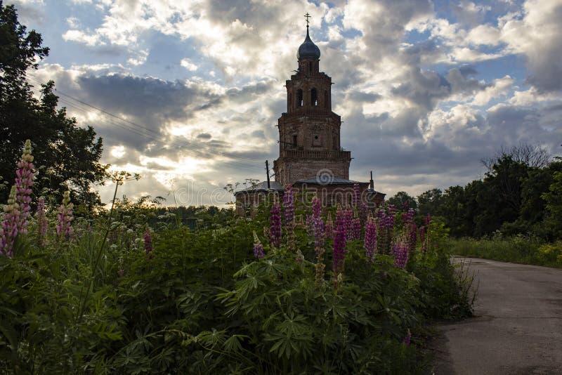 La iglesia de la ascensión fotos de archivo
