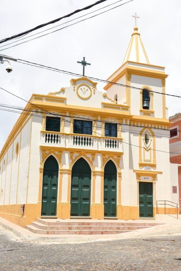 La iglesia de Bonfim en Olinda, el Brasil imágenes de archivo libres de regalías