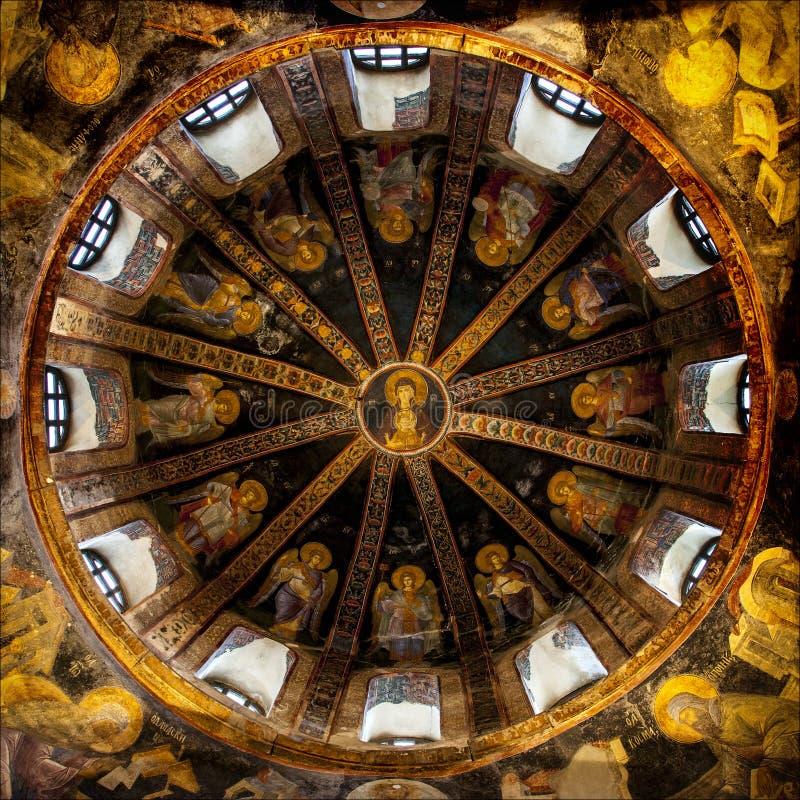 La iglesia de Chora foto de archivo