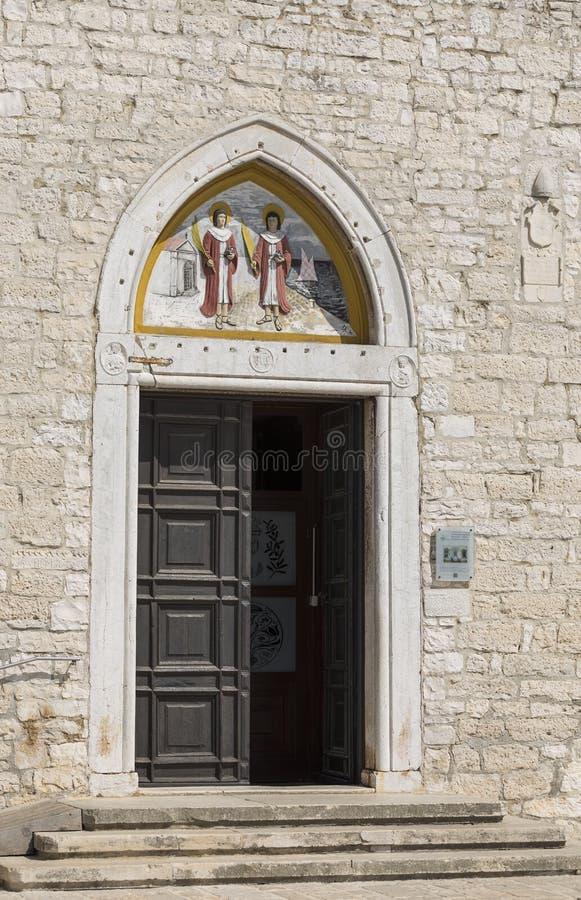 La iglesia de Fazana imágenes de archivo libres de regalías
