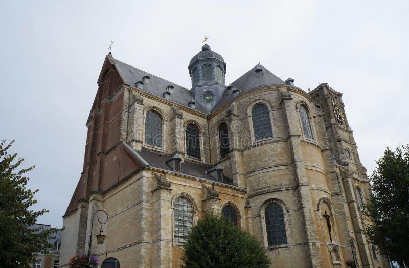 La iglesia de la abadía de Grimbergen, Bélgica fotos de archivo