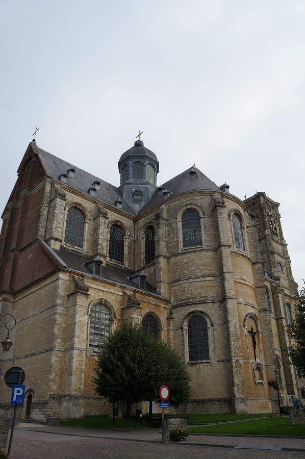 La iglesia de la abadía de Grimbergen, Bélgica imágenes de archivo libres de regalías