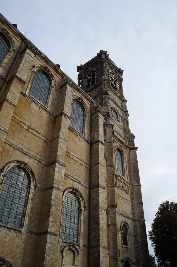 La iglesia de la abadía de Grimbergen, Bélgica fotografía de archivo libre de regalías