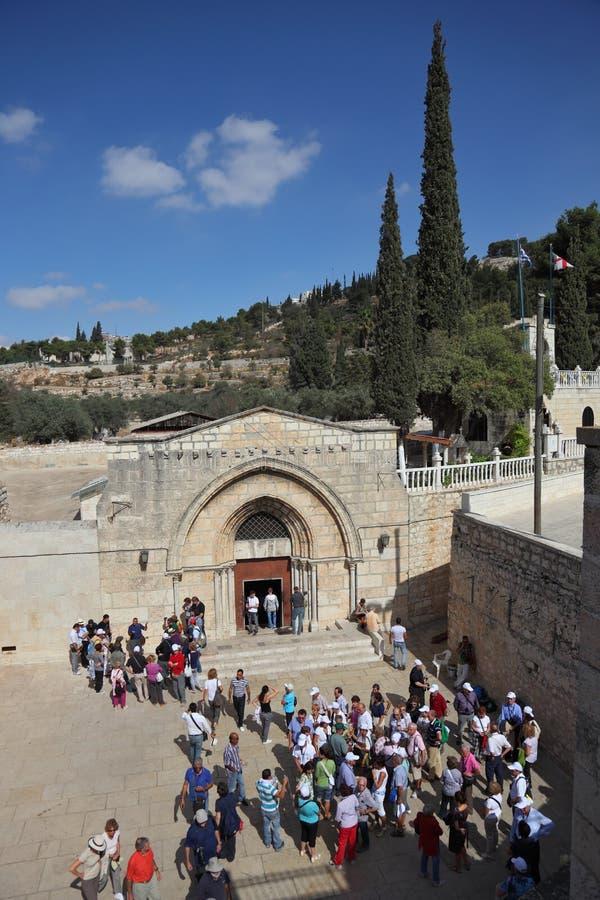 La iglesia de la asunción de la Virgen fotografía de archivo