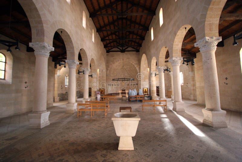 La iglesia de la multiplicación fotografía de archivo