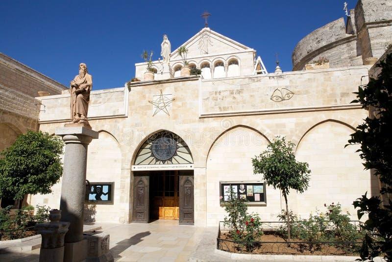 La iglesia de la natividad fotos de archivo