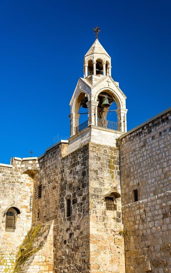 La iglesia de la natividad en Belén, Palestina imagen de archivo