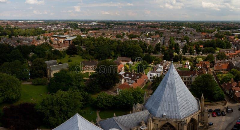 La iglesia de monasterio famosa de York imagen de archivo