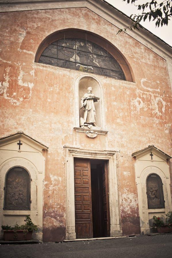 La iglesia de San Bonaventura, Roma, Italia imágenes de archivo libres de regalías