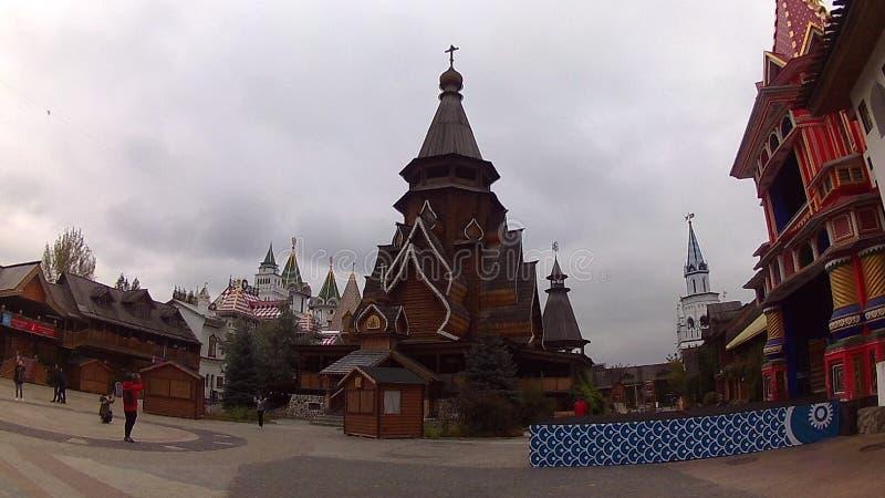 La iglesia de San Nicolás en Izmailovsky el Kremlin foto de archivo libre de regalías
