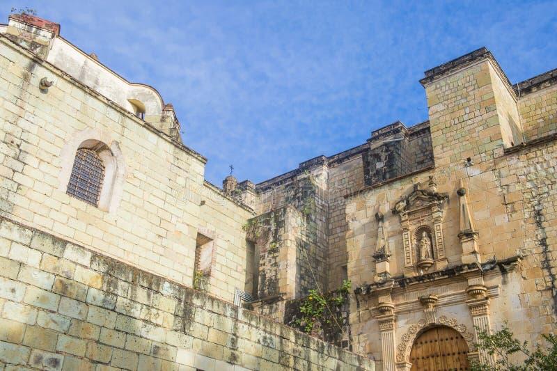 La iglesia de Santo Domingo de Guzman en Oaxaca México imágenes de archivo libres de regalías