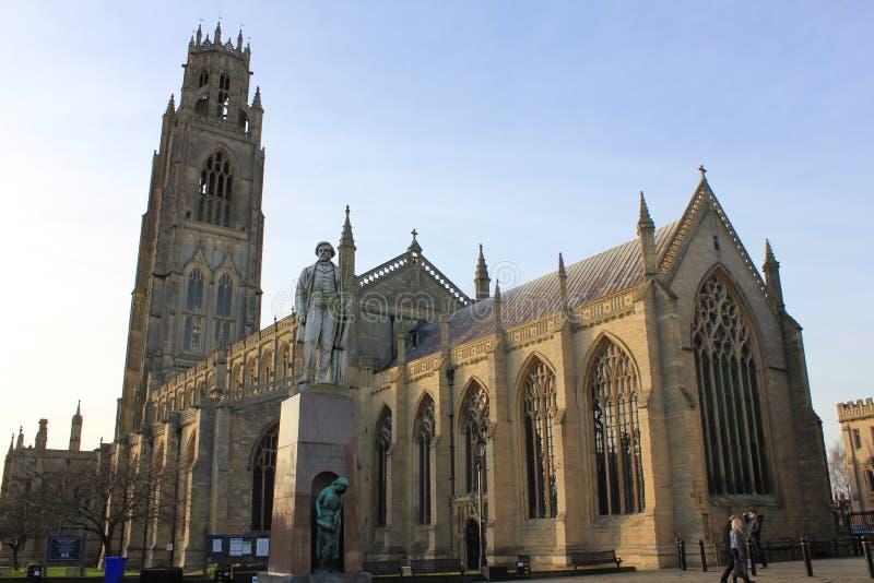 La iglesia de St Botolph en Boston fotos de archivo