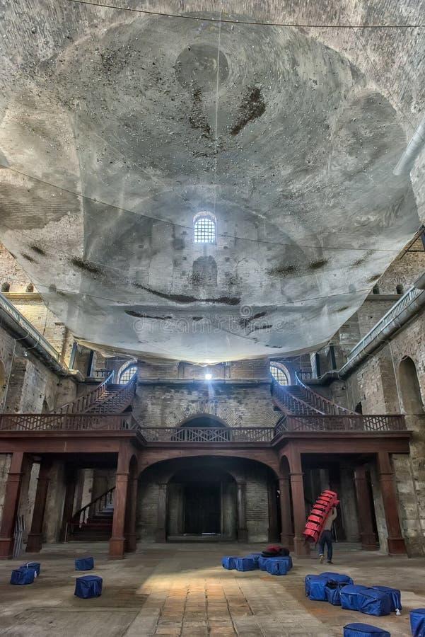 La iglesia de St Irene - una de las iglesias más tempranas de la supervivencia foto de archivo libre de regalías
