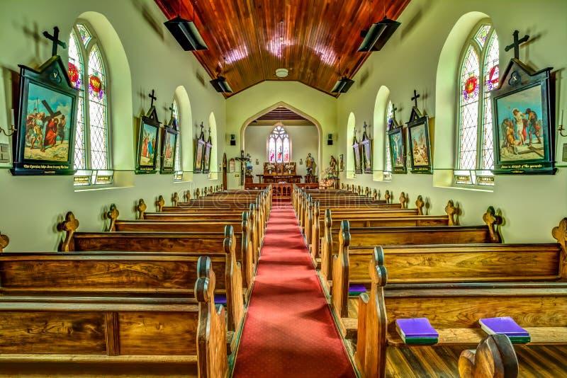 La iglesia de St John en Richmond, Tasmania imagenes de archivo