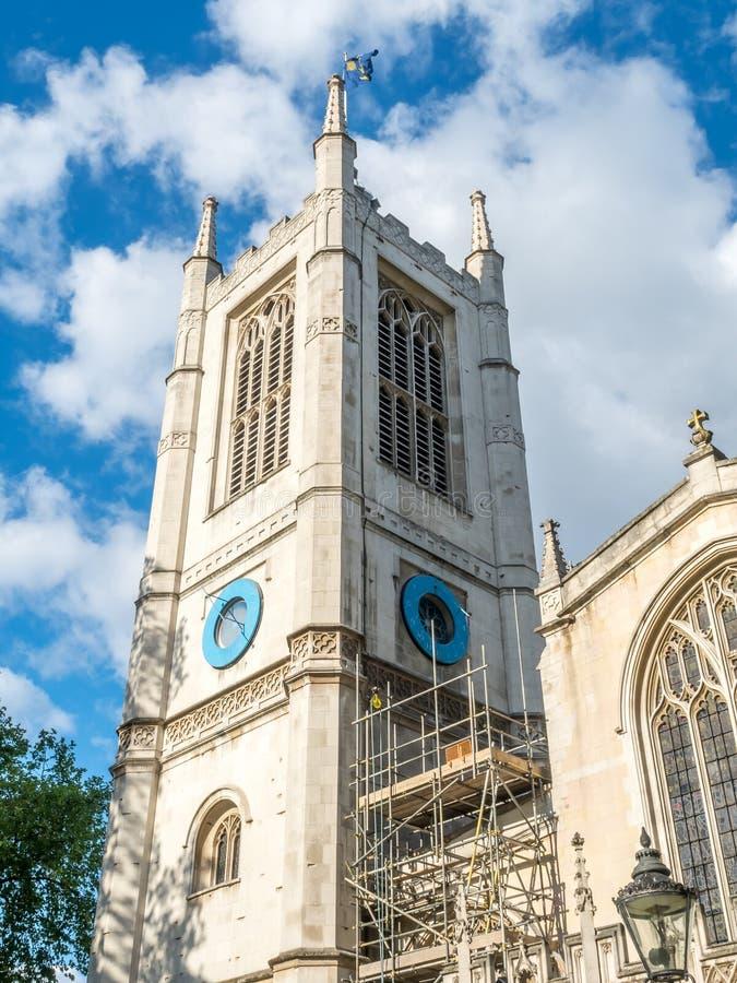 La iglesia de St Margaret en Londres imagen de archivo libre de regalías