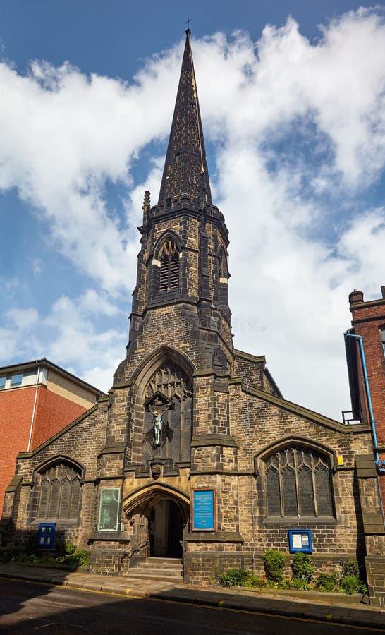 La iglesia de St Matthew o Carver Street de St Matthew sheffield South Yorkshire inglaterra fotografía de archivo libre de regalías