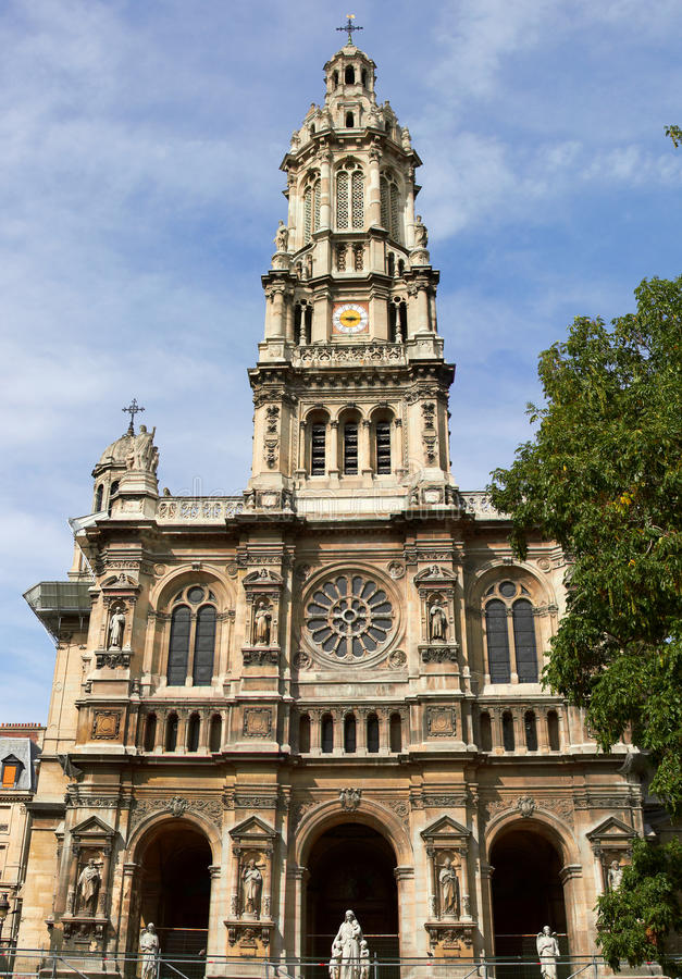 La iglesia de trinidad del santo foto de archivo libre de regalías