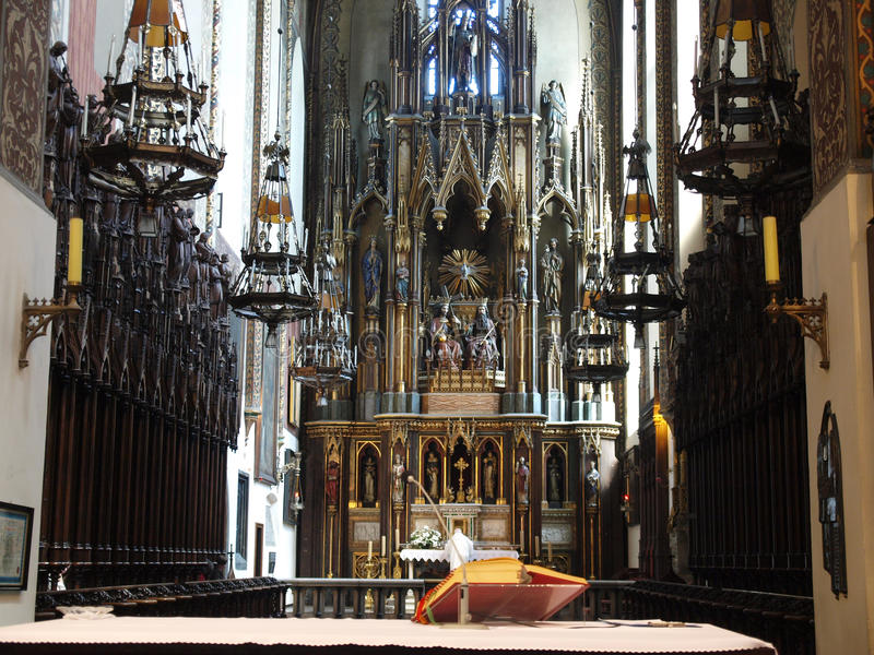 La iglesia de trinidad santa foto de archivo libre de regalías