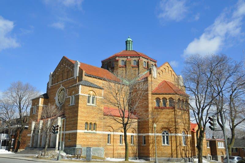 La iglesia del adventist del Séptimo-día de Westmount imágenes de archivo libres de regalías