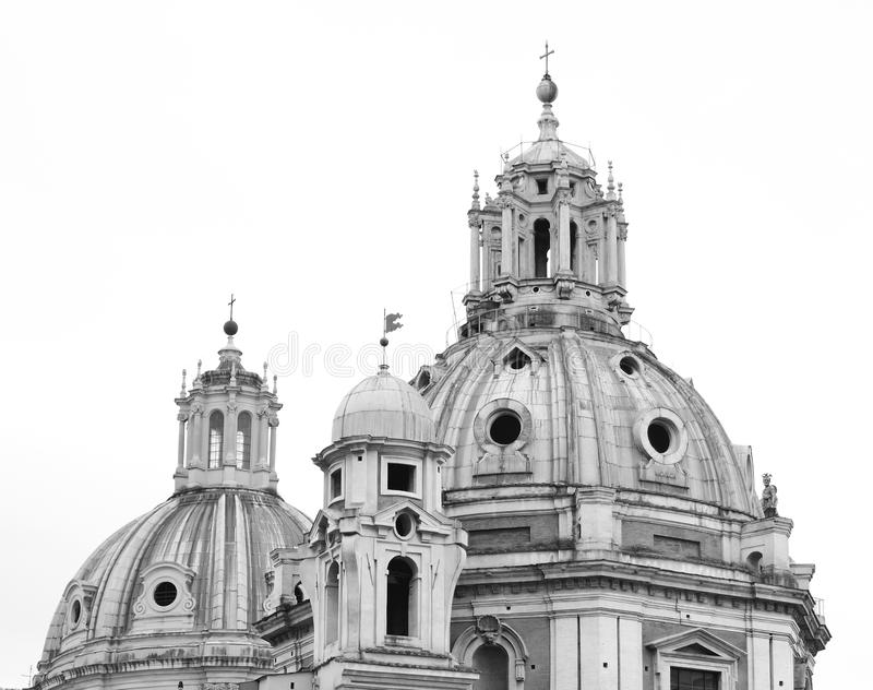 La iglesia en Roma imagen de archivo
