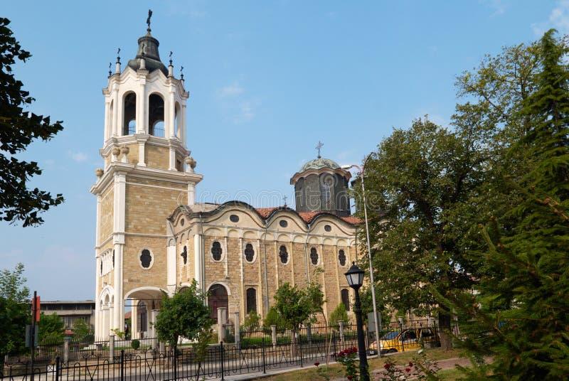 La iglesia en Svishtov, Bulgaria foto de archivo libre de regalías