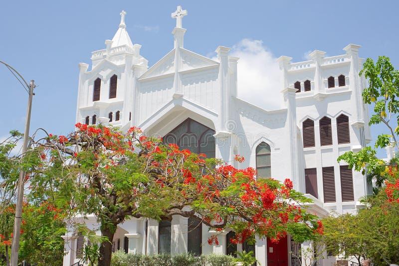 La iglesia episcopal de San Pablo imagen de archivo libre de regalías