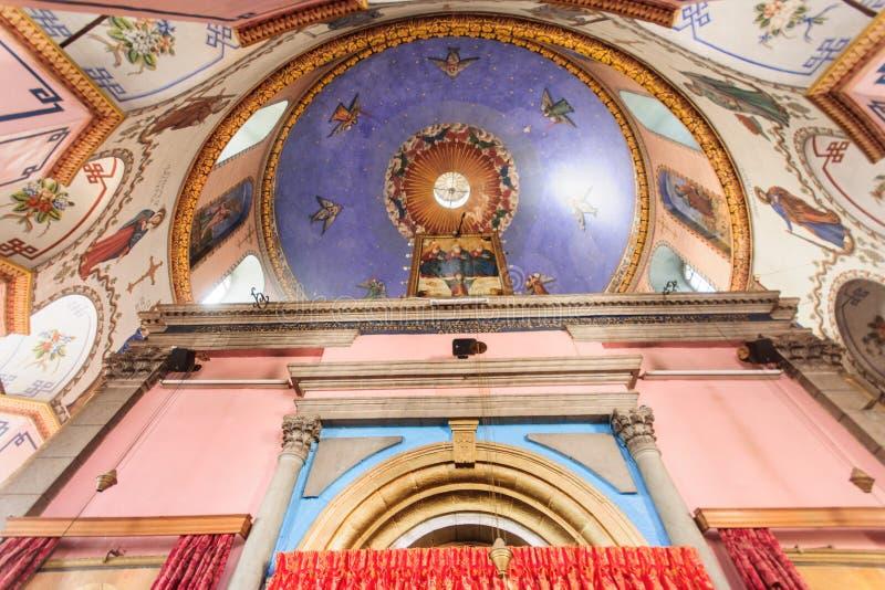 La iglesia etíope fotos de archivo libres de regalías