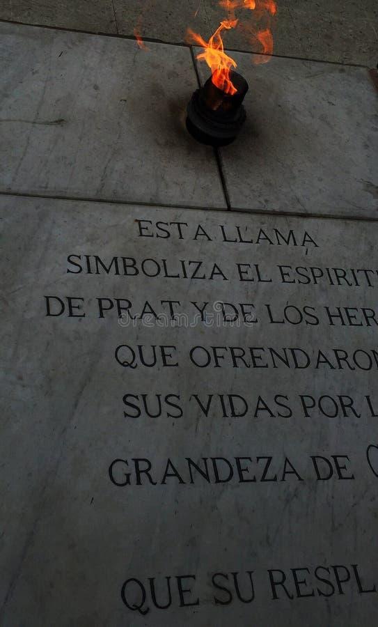 la iglesia hermosa fría moutaing enciende el monumento el Brasil el Brasil de la ciudad imagen de archivo libre de regalías