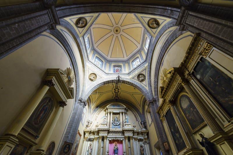 La iglesia histórica - Iglesia De La Salud foto de archivo