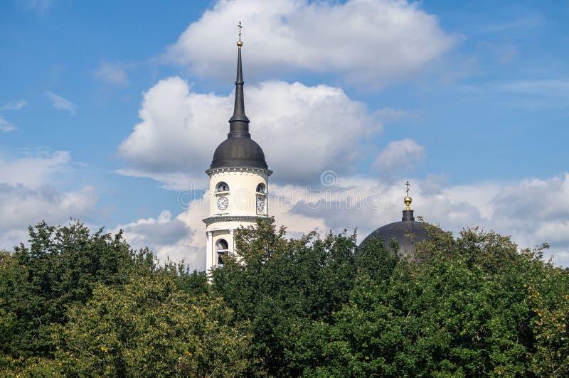 La iglesia ortodoxa en Rusia fotografía de archivo libre de regalías