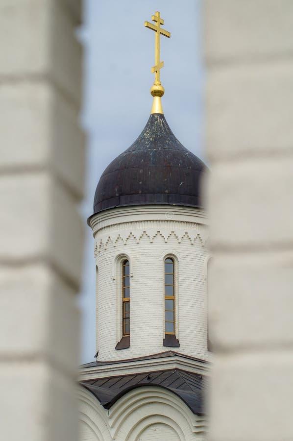La iglesia ortodoxa en Rusia imagenes de archivo