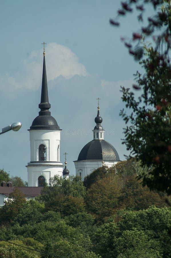 La iglesia ortodoxa en Rusia fotografía de archivo
