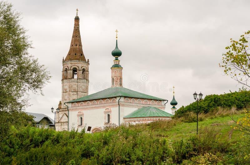 Download La Iglesia Ortodoxa Y El Campanario En Suzdal Foto de archivo - Imagen de golden, outdoor: 100529430
