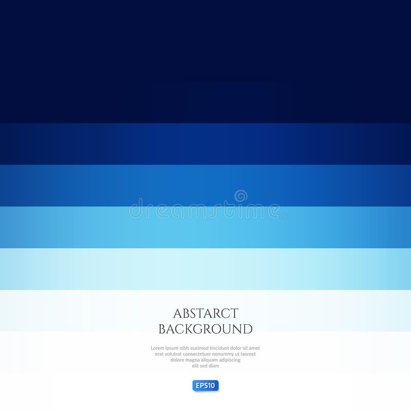 La imagen abstracta en azul Espacio para el texto libre illustration