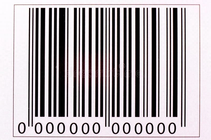 La imagen de la clave de barras foto de archivo