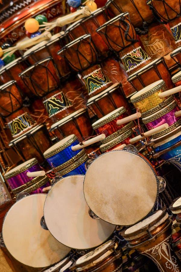 La imagen del darbuka turco étnico del tambor fotos de archivo libres de regalías